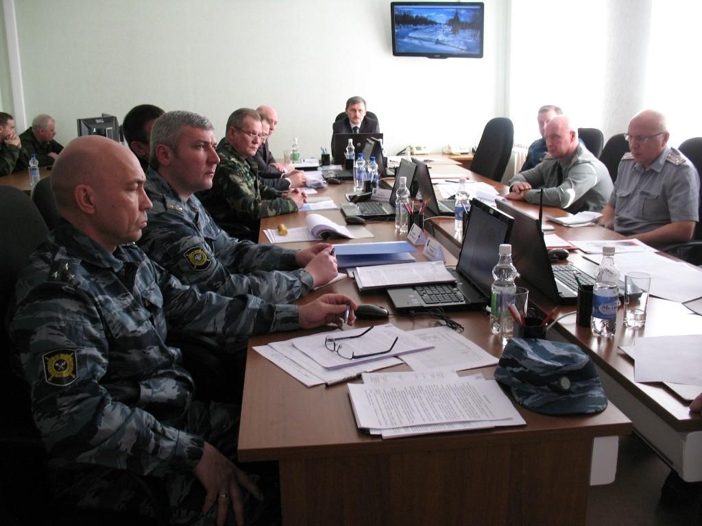 Командно-штабное учение по пресечению террористического акта в п.Мари-Турек