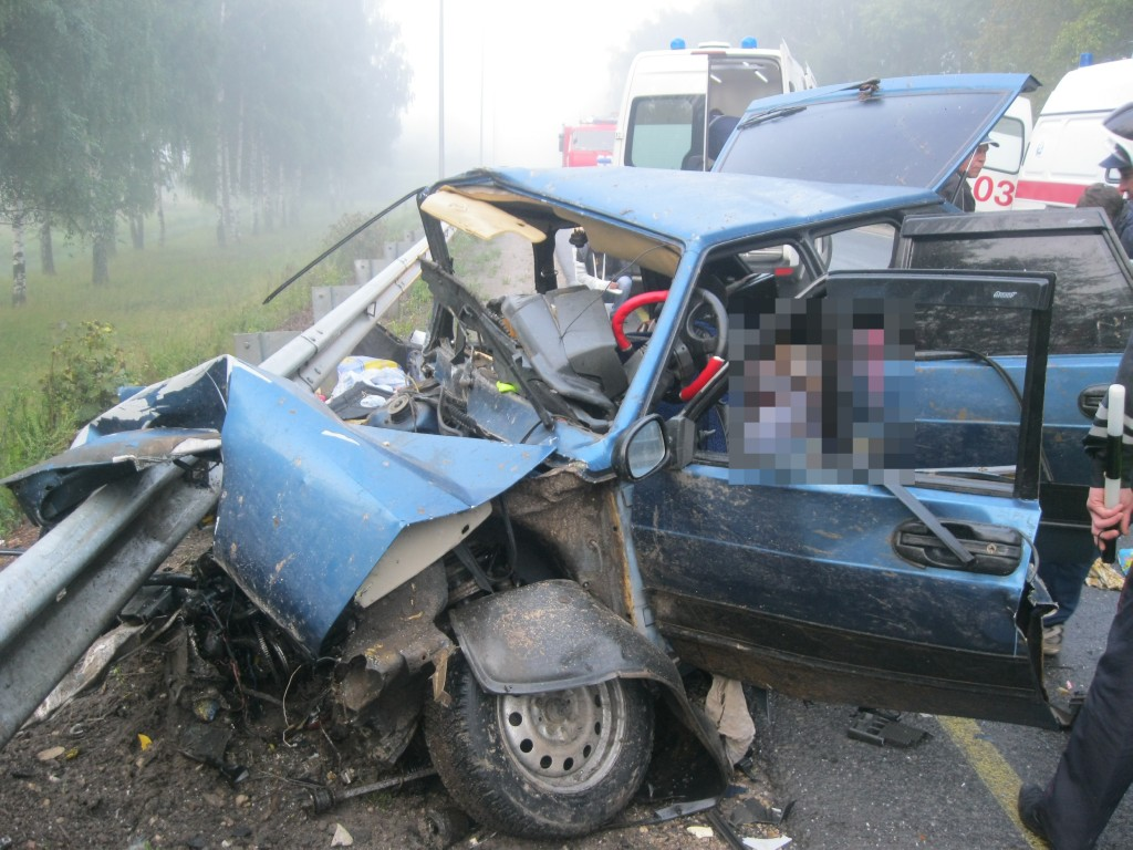 ДТП с 6 погибшими близ Йошкар-Олы