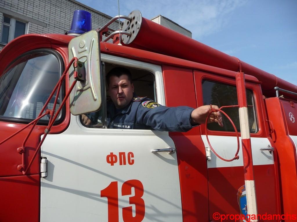 Республиканский конкурс «Лучший водитель пожарного автомобиля ГПС Республики Марий Эл»