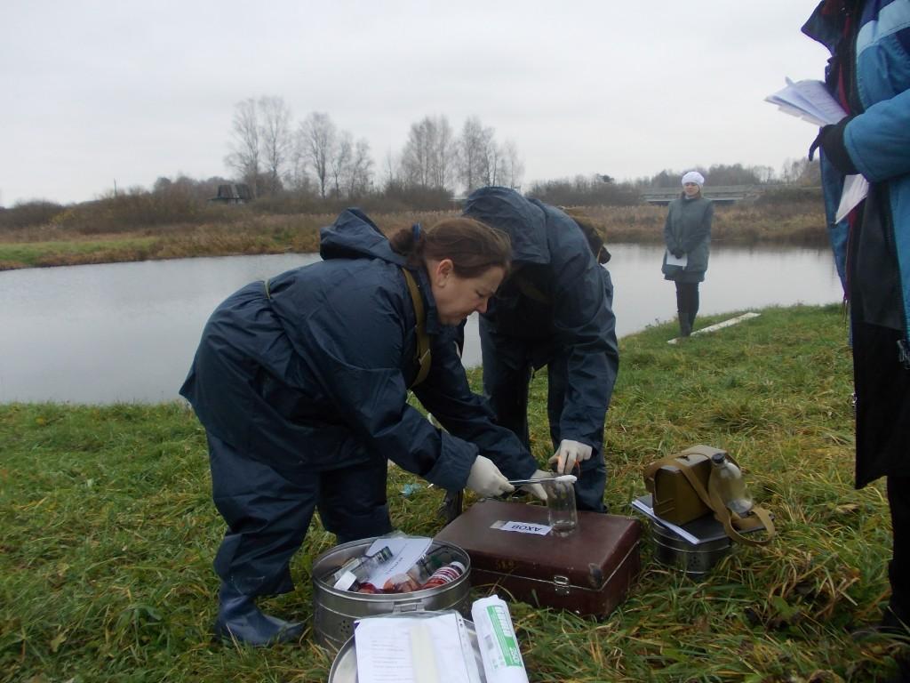 Тренировка УГЗ в Медведевском районе