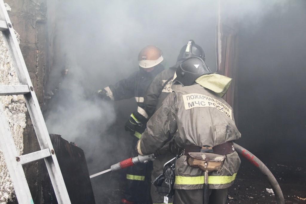 Пожар в Йошкар-Оле на Строителей 88а