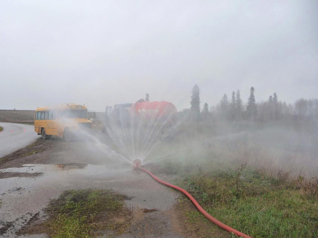 Тактико-специальные учения по ликвидации последствий ДТП и спасению людей
