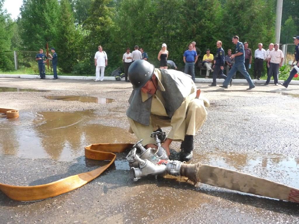 Соревнования между подразделениями добровольной пожарной охраны Республики Марий Эл