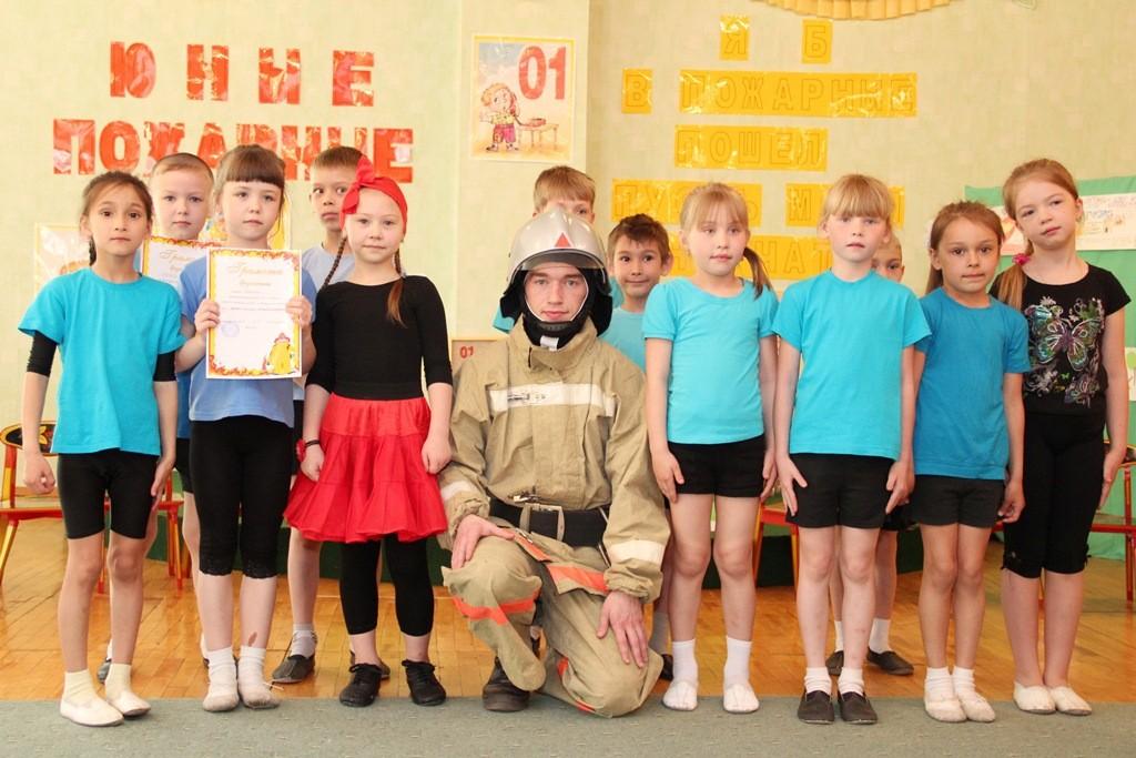 """Праздник """"Юный пожарный"""" в детском саду """"Ивушка"""""""