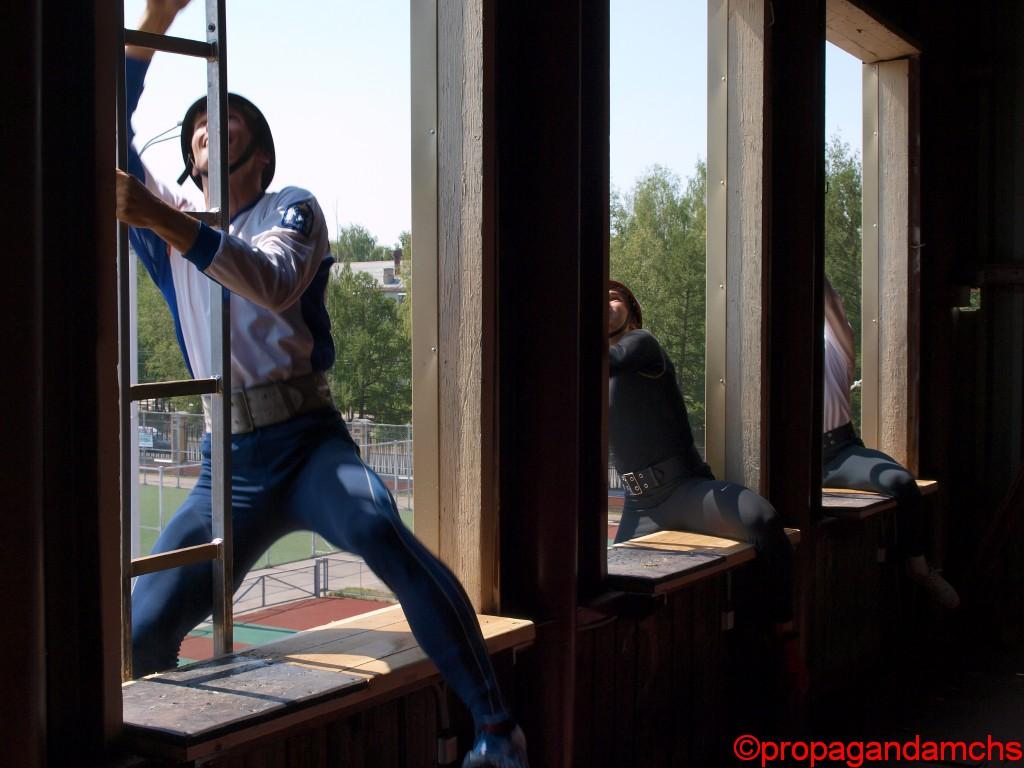 XIX открытый Чемпионат России и первенство ВДПО по пожарно-прикладному спорту. День второй.