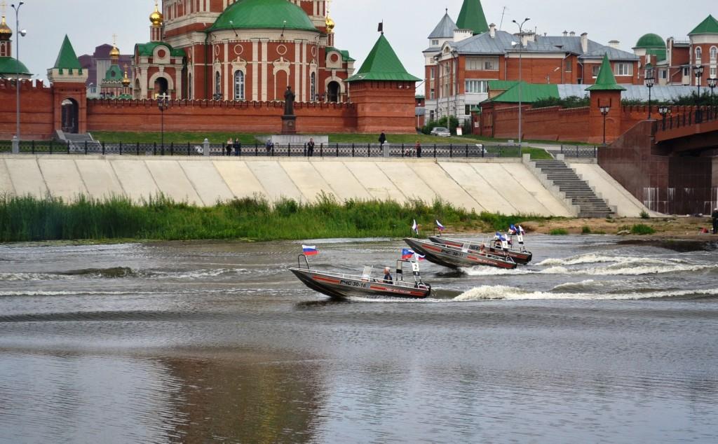 Закрытие водно-моторных соревнований ГИМС