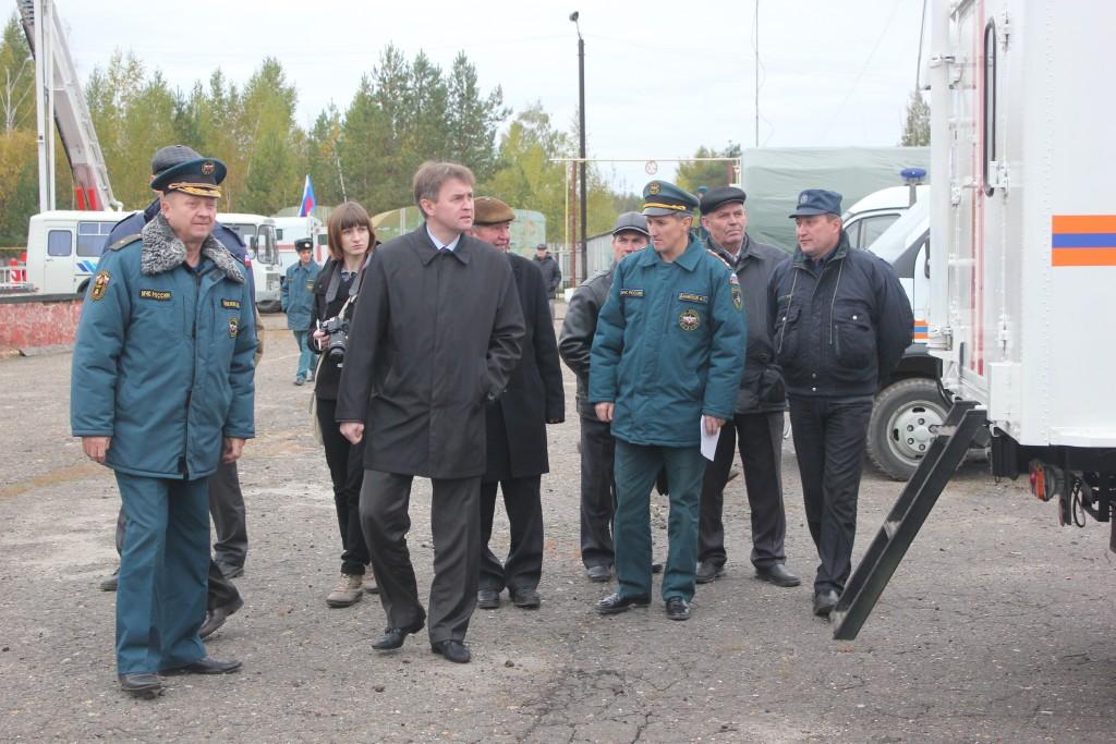 Мероприятия в день Гражданской обороны