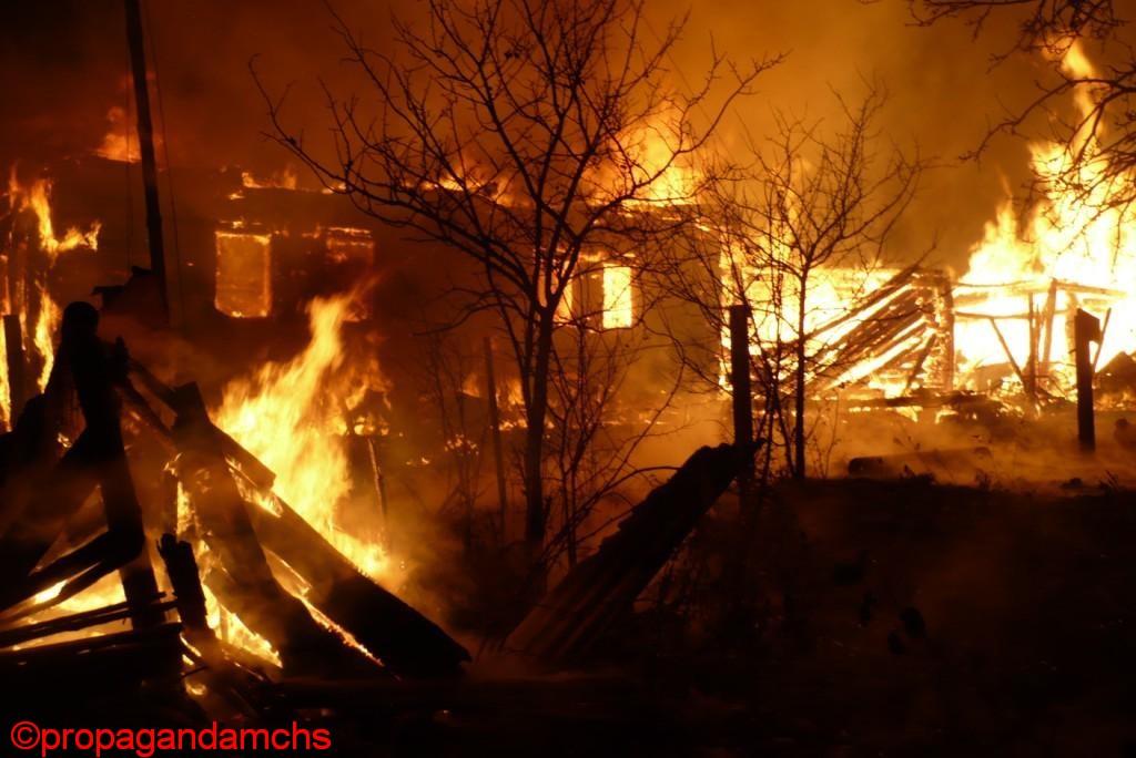 Пожары за 2009 год