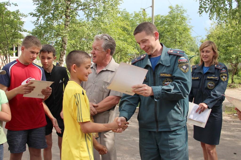"Акция ""Безопасное лето"" в ДОЛ им. Ю.Гагарина"