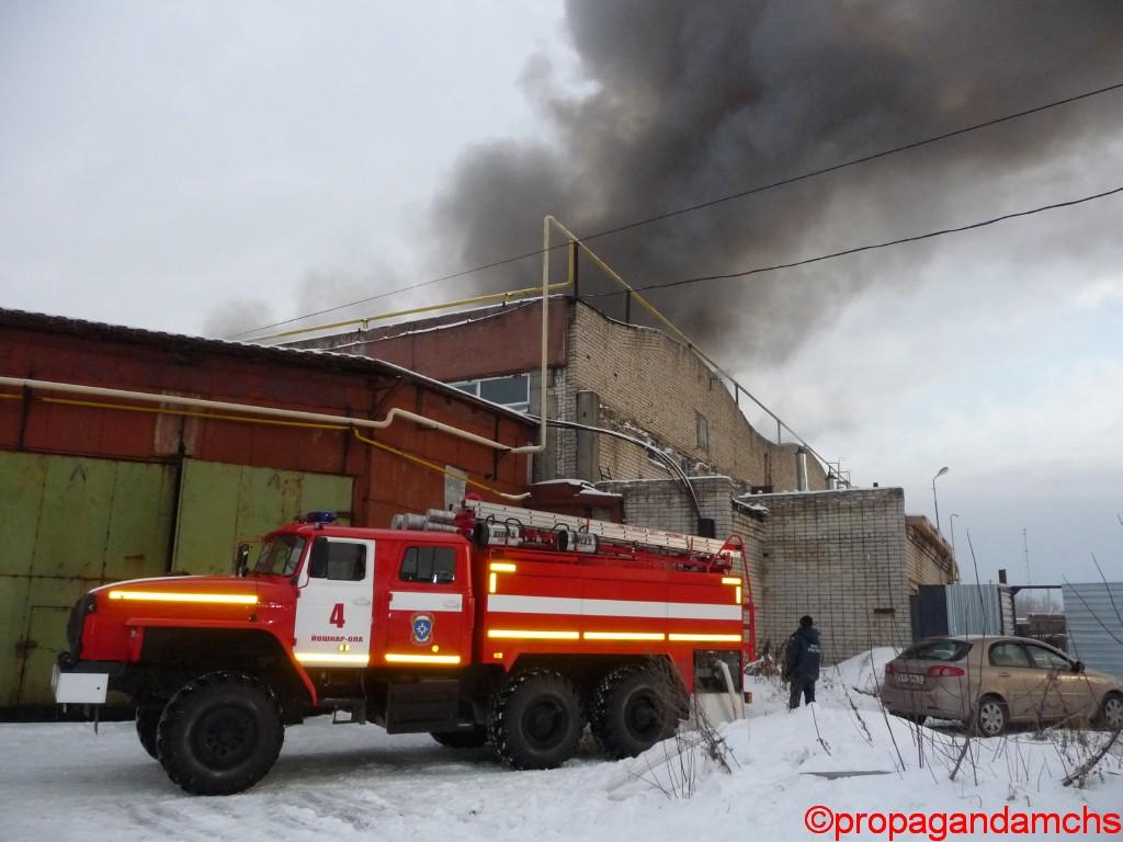 "Пожар на заводе ""Новатор"""
