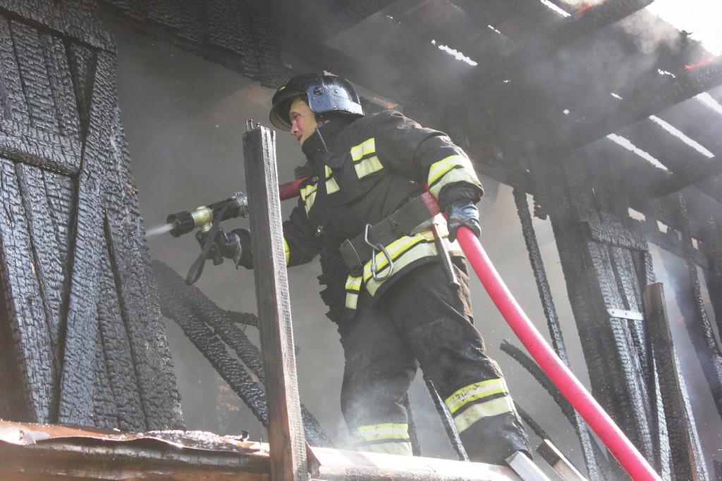 Пожар на ул.Палантая, г.Йошкар-Ола