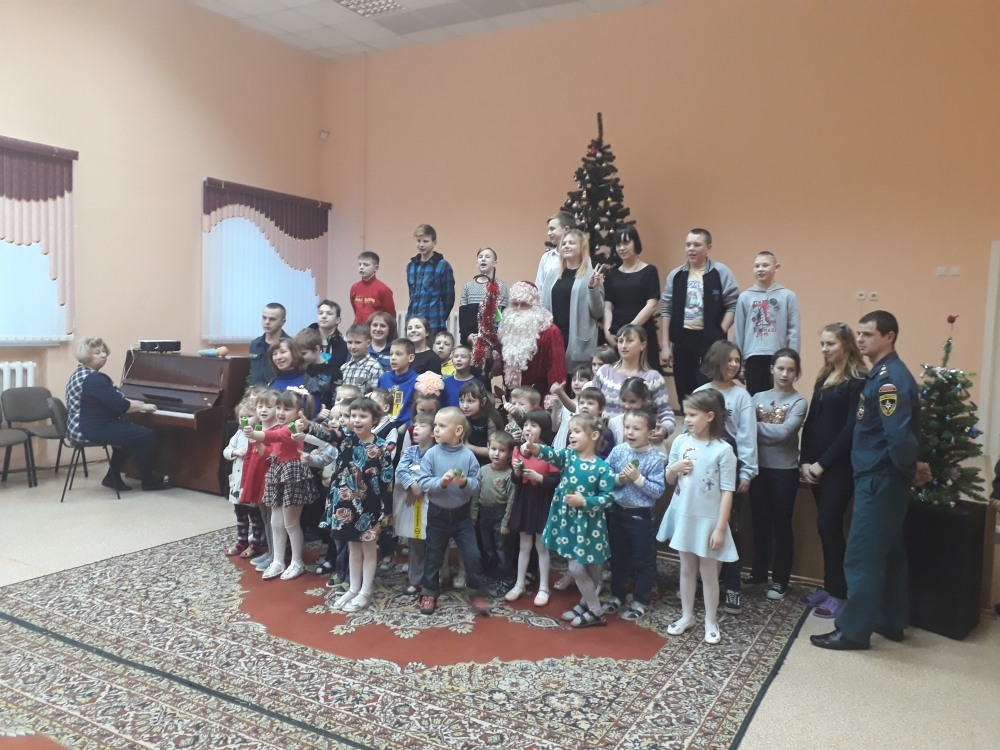 "Акция ""Спасатель Дед Мороз"": праздник детям"