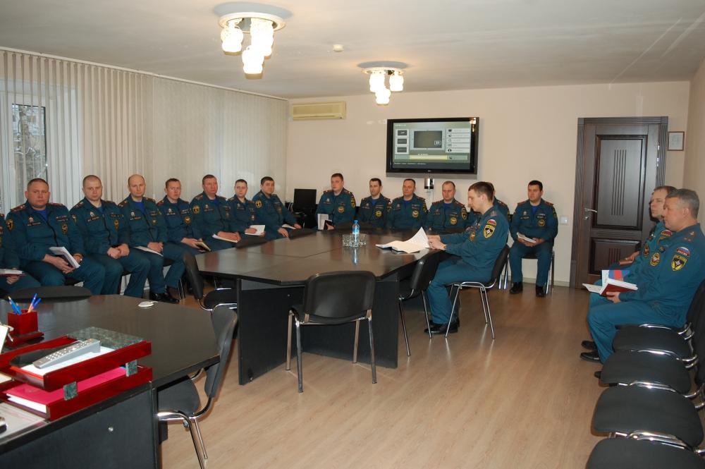 В Пскове прошли учебно-методические сборы с начальниками подразделений надзорной деятельности и профилактической работы