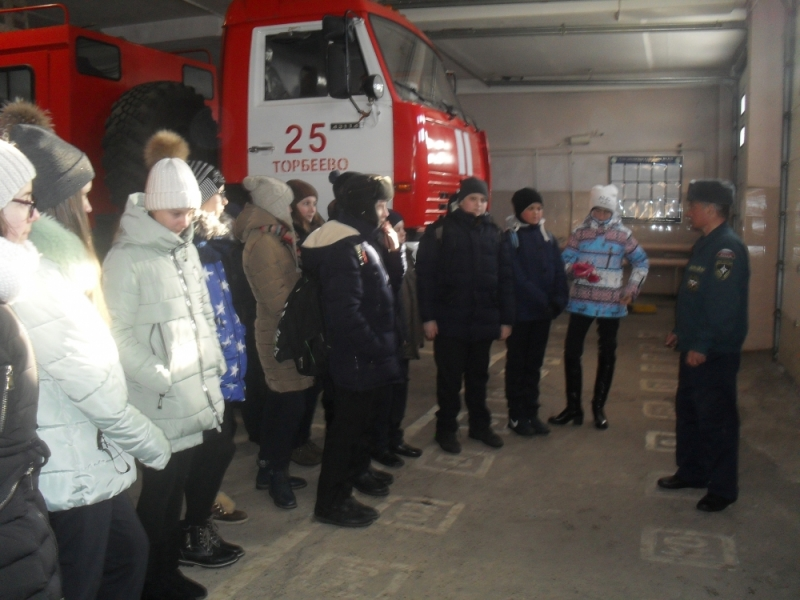 Более 600 человек посетили подразделения МЧС