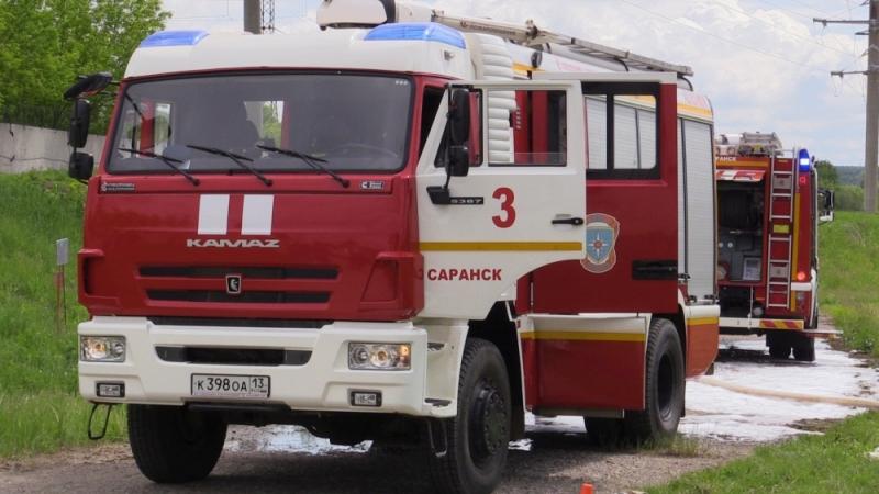 Пожарно-спасательные подразделения ГУ МЧС России по Республике Мордовия предотвратили условное возгорание мазутного топлива.