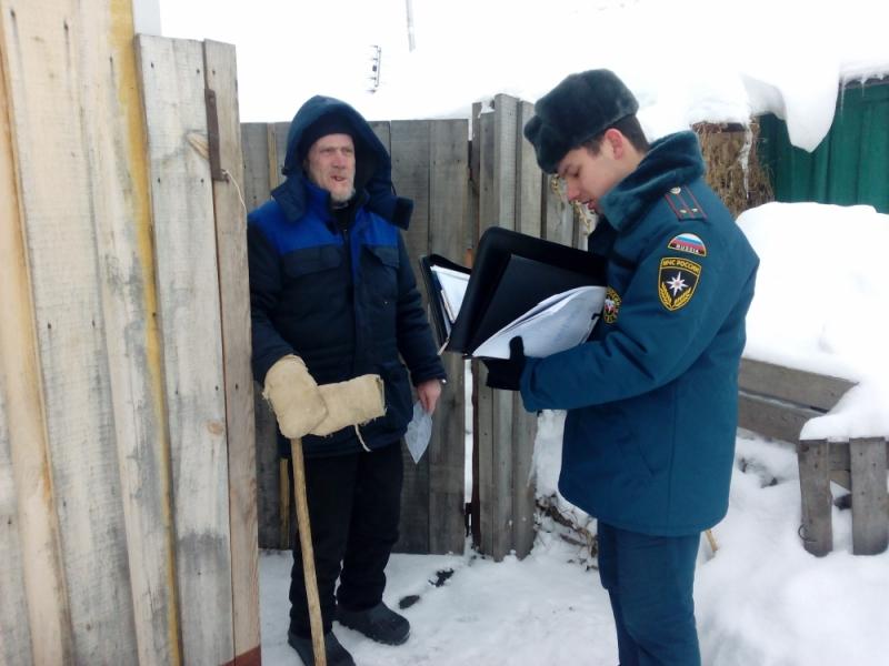 Комплексная отработка в селе Подлесная Тавла Кочкуровского района