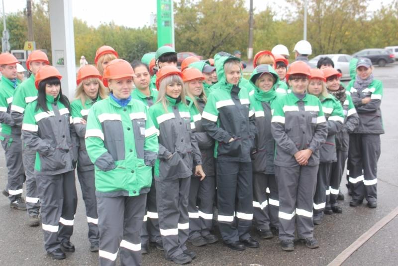 Пожарно-тактическое занятие на автозаправочной станции «Башнефть»