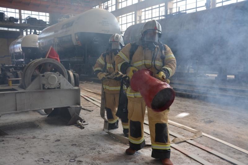 Учения на одном из крупнейших предприятий Мордовии