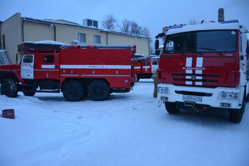 Пожарно-тактическое занятие в музучилище