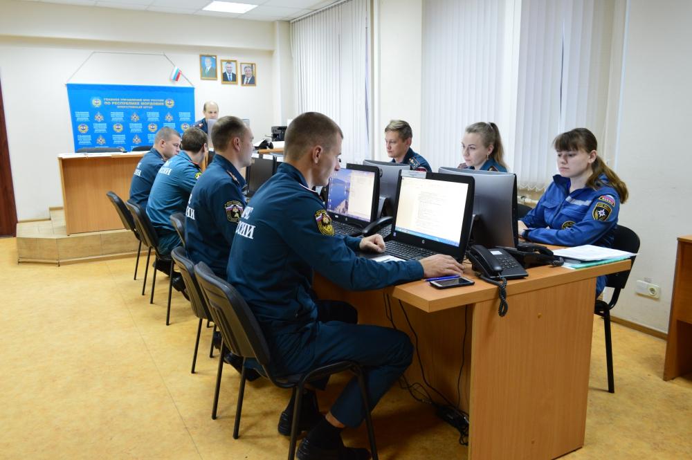 ЗавЗавершающий этап всероссийской тренировки по ГО