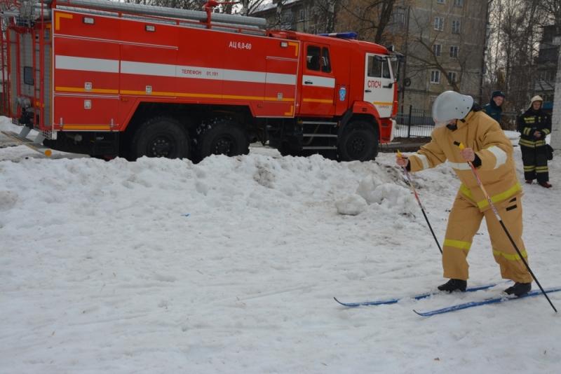 Всероссийский пожарно-спасательный флешмоб прошёл и в Мордовии.