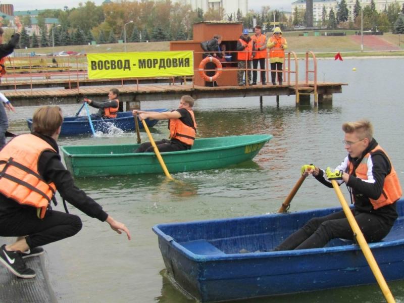 Соревнования на воде посвященные дню ГО