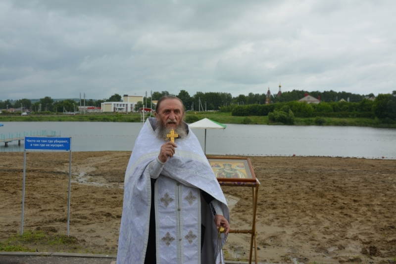 Освящение мест купаний