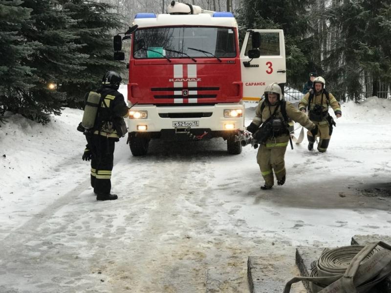 """Пожарно-тактические занятия в """"Лесной сказке"""""""