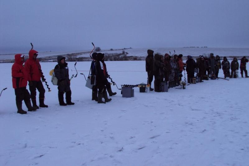 Состоялись соревнования по рыболовному спорту