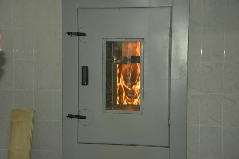 Открыто здание Испытательной пожарной лаборатории