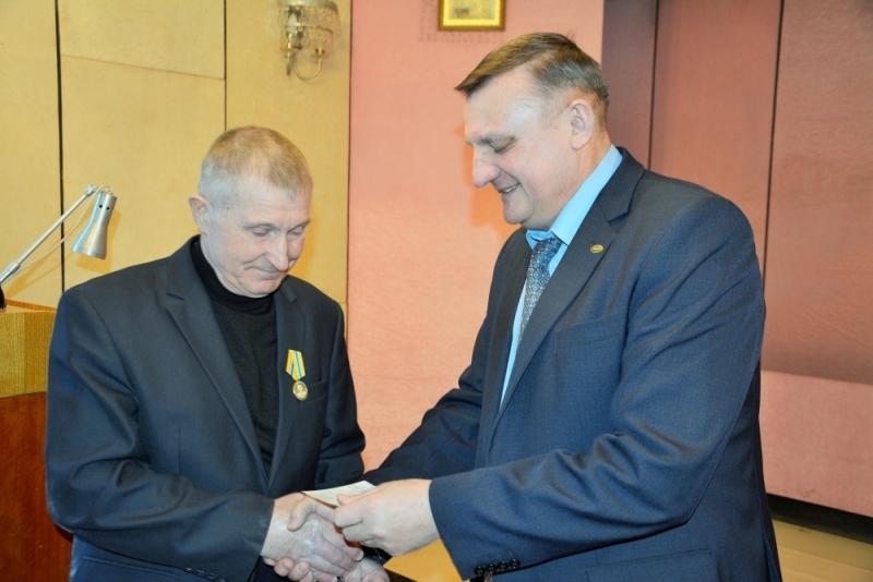 Награды ветеранам гражданской обороны