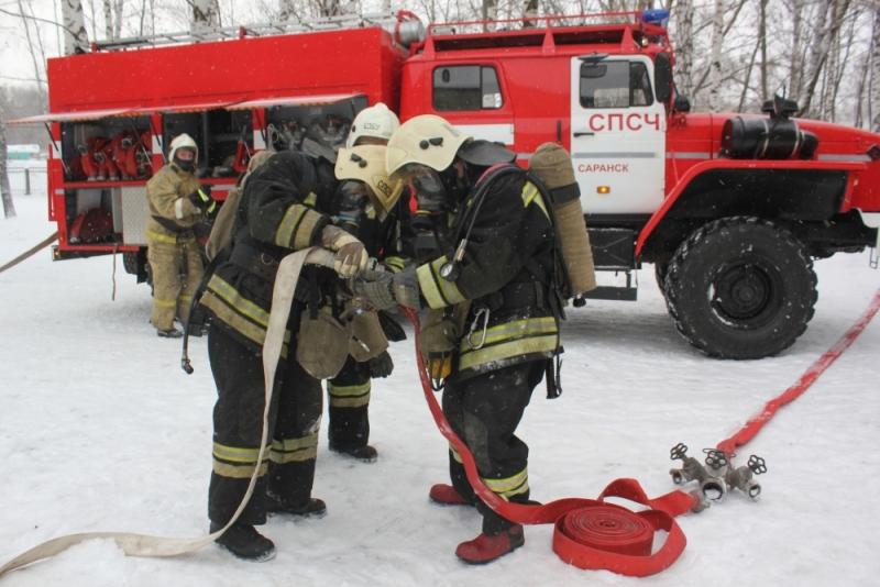 Пожарно-тактическое учение в школе-интернате