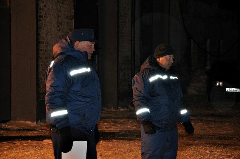 Очередные учения мордовских спасателей