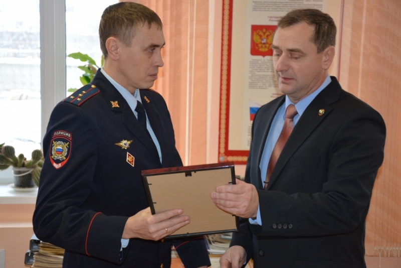 Награда от ВДПО за геройский поступок