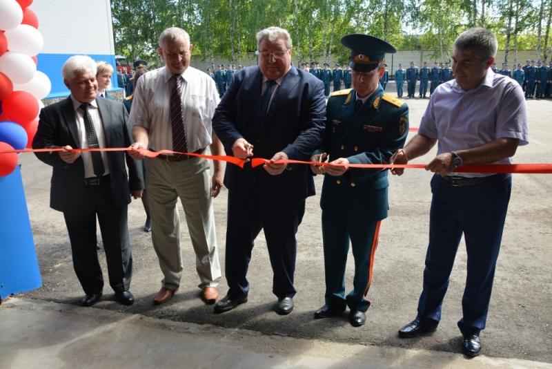 Открытие здания специализированной пожарно-спасательной части