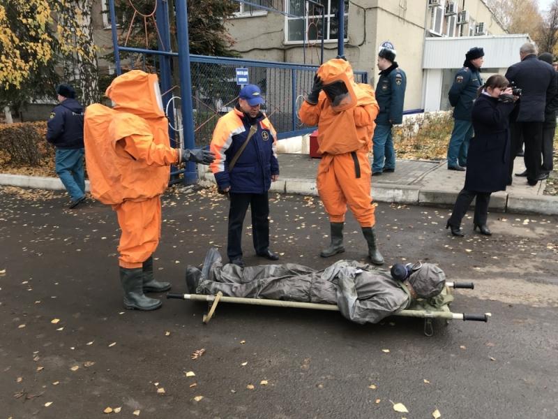 Командно-штабные учения в Саранске