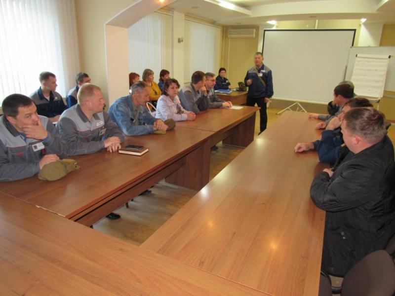 На АО «Рузхиммаш» отработан широкий круг практических мероприятий.