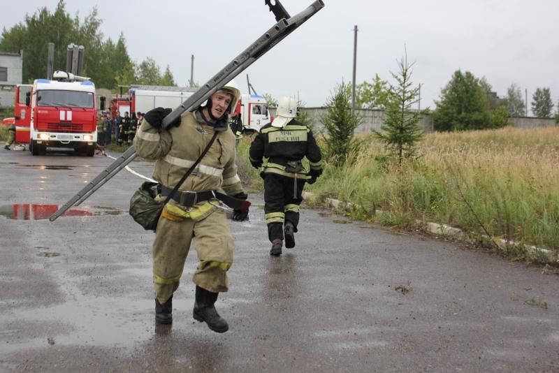 Пожарный биатлон