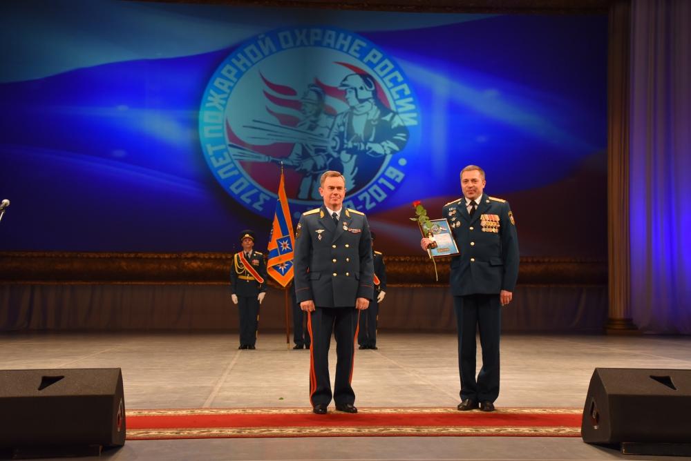 Торжество к 370-летию пожарной охраны