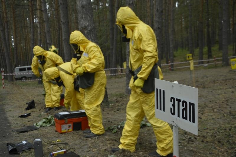 Соревнования групп санитарно-эпидемиологической разведки