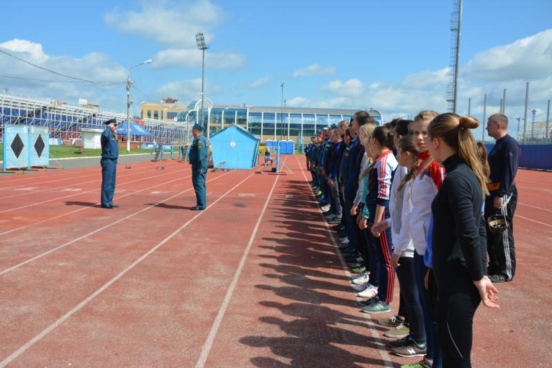 В городском округе Саранск прошли соревнования по пожарно-спасательному спорту