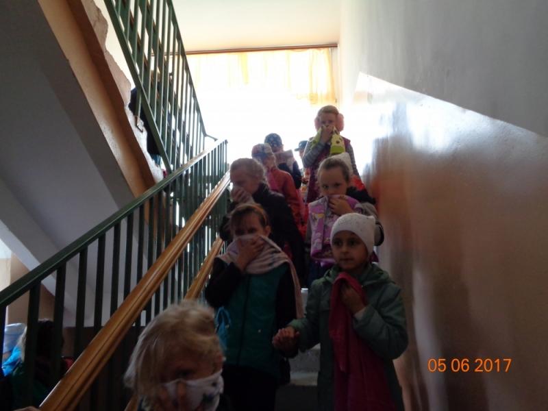 Сотрудники государственного пожарного надзора провели профилактическую беседу с детьми в ГКУЗ РМ «Большеберезниковский детский туберкулезный санаторий»