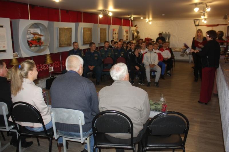 Встреча поколений спортсменов - пожарных
