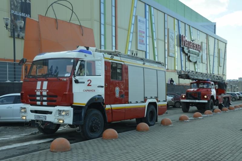 Тренировка в крупнейшем ТРЦ Мордовии