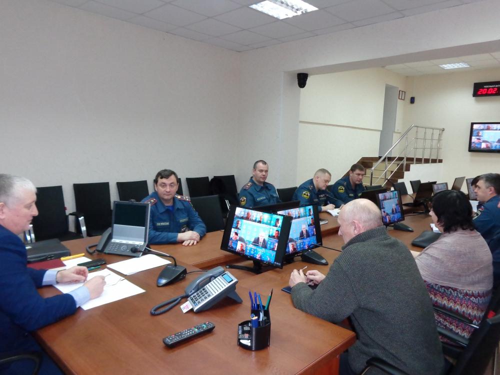 Селекторное совещание ветеранской организации