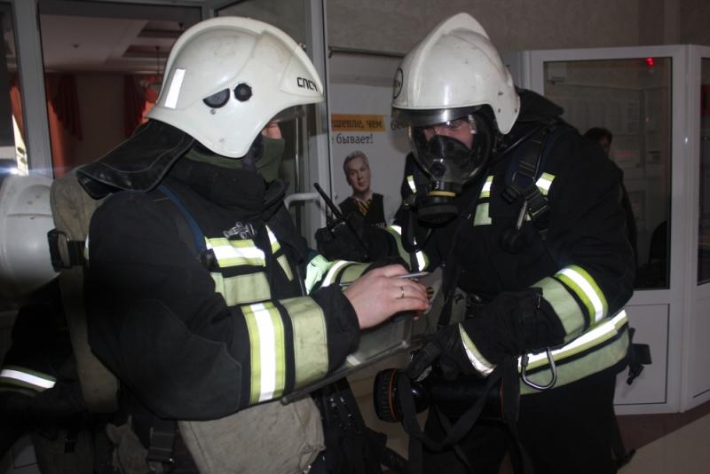 Первые крупные пожарно-тактические учения года