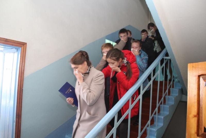 Масштабное учение в Инсарском районе