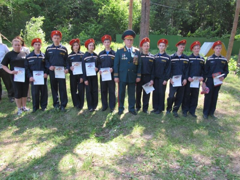 Лучшие юные спасатели Мордовии