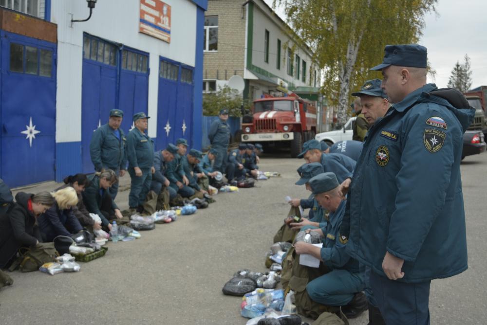 Командно-штабные учения в Мордовии