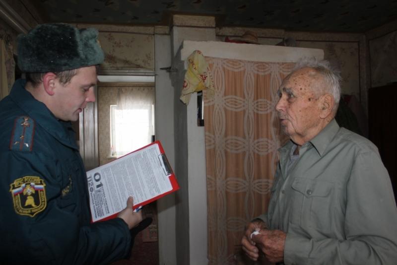 В рамках операции «Жилище-2015» проводятся беседы и инструктажи